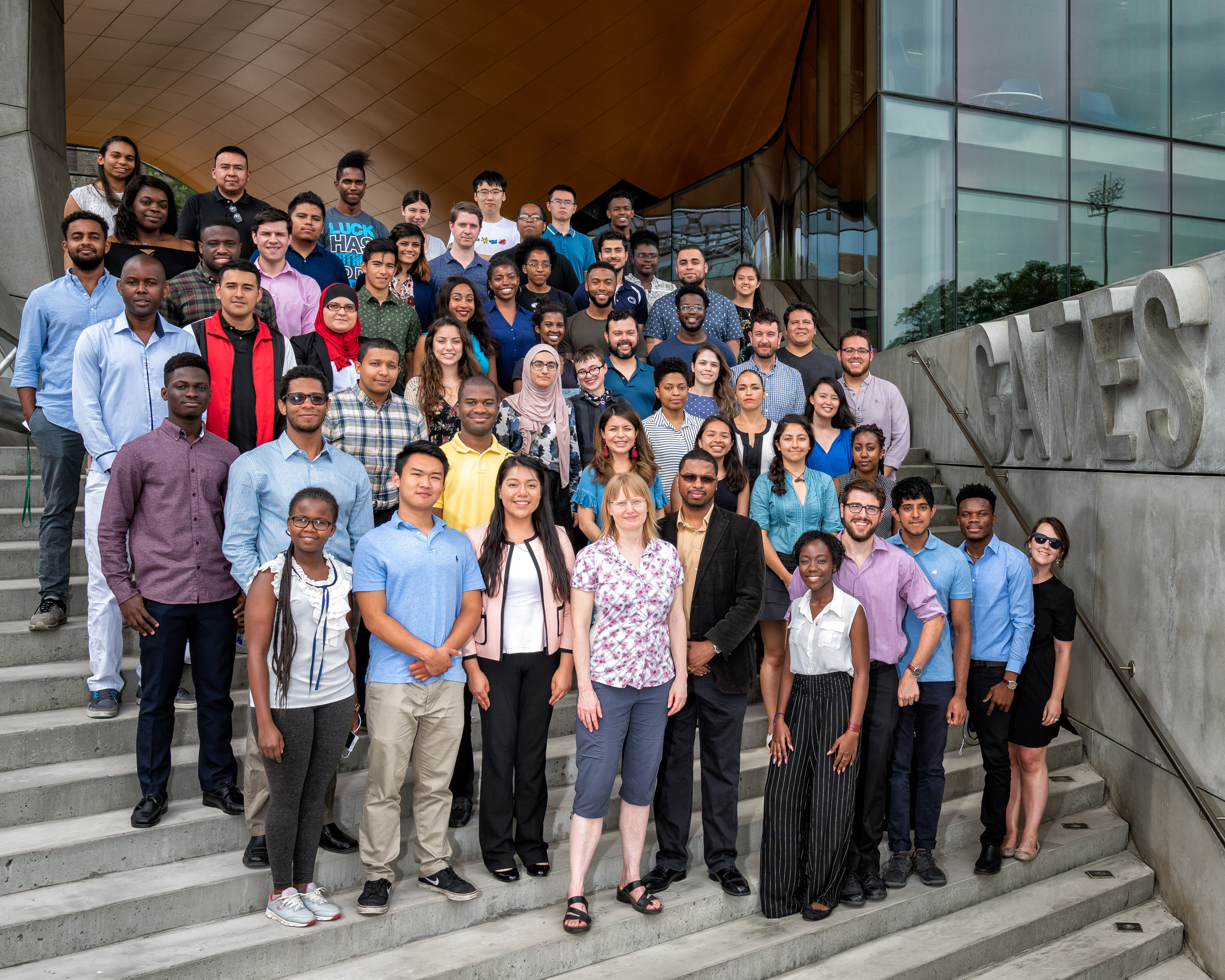 The 2018 cohort of students invited to Computing and Information Science's summer research programs, SONiC and Designing Technology for Social Impact.