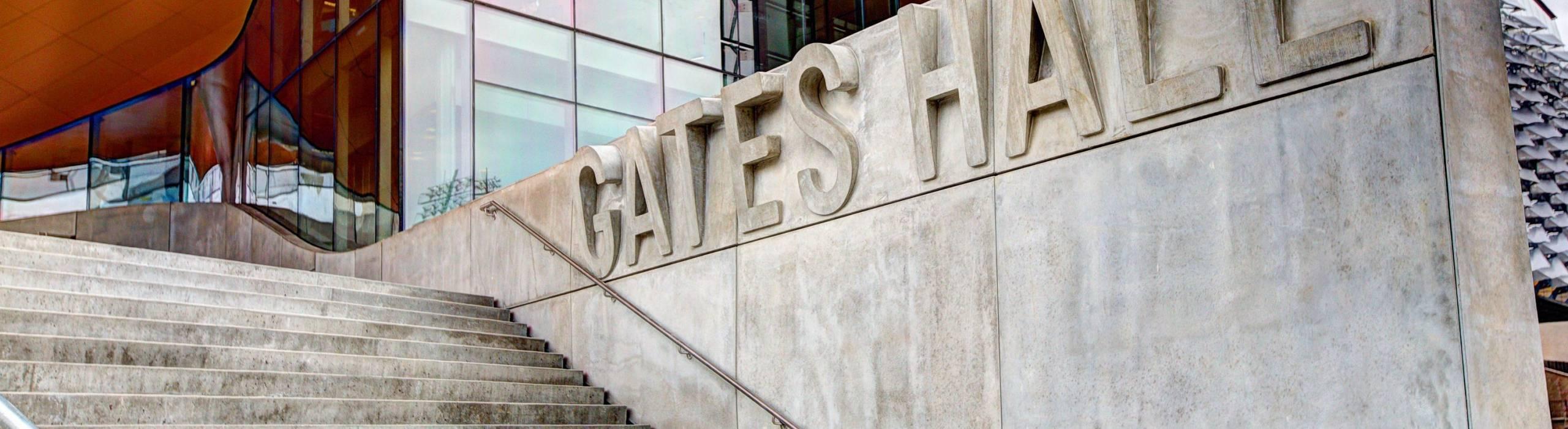 Gates Hall Steps