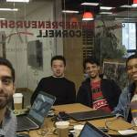 Info Sci's Val Mack founded Dimitri with three other students, Jingyang Liu Leo, Khalil Hajji, and Mutahir Kazmi, other graduate students who met through a class.