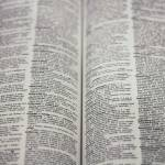 closeup photo of words in a dictionary